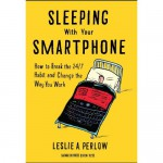 """""""Book Cover of Sleeping With Your Smartphone"""""""