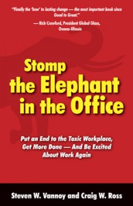 Stomp the Elephant in the Office cover