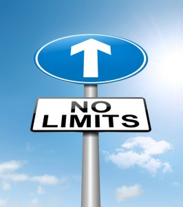 no limits sign shutterstock_118081180 small